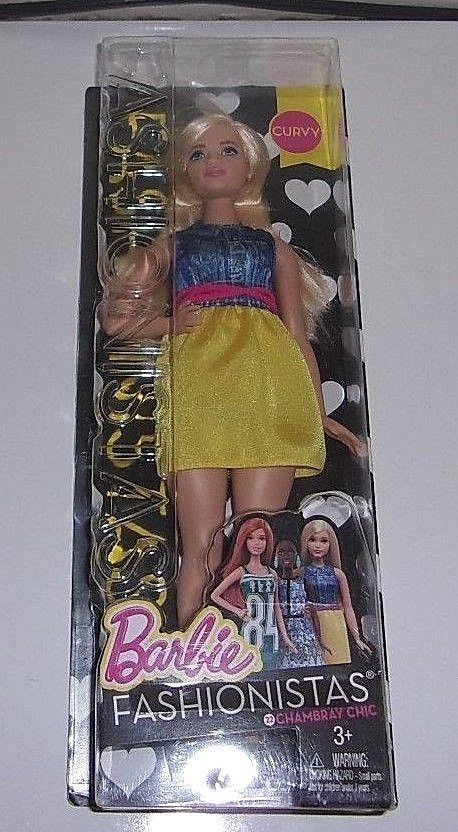 Barbie Fashionistas Chic In Chambray