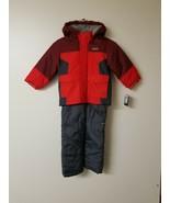 OshKosh B_GoshBoys' Boys' Ski Jacket and Snowbib Set, Maple Leaf/Sneaker... - $26.11