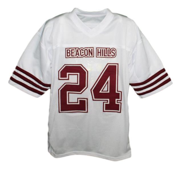Stilinski  24 beacon hills jersey white  1