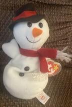 Vintage Ty Beanie Babies Snowball the Snowman 1996 Christmas Holiday Ori... - £6.05 GBP