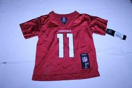 Toddler Arizona Cardinals Larry Fitzgerald 2T NWT Jersey (Red) Reebok - $28.04