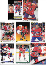 1990-91 Upper Deck-KIRK MULLER-22 cards-Canadiens,Devils-Pinnacle,ULTRA,... - $1.01