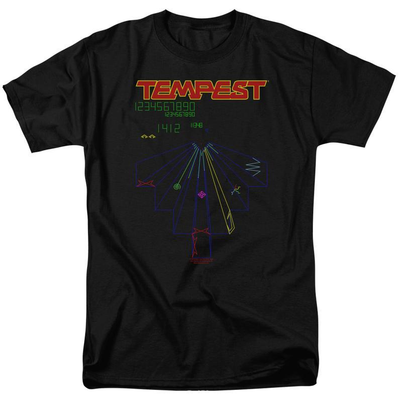 Pest arcade video games graphic tee shirt for sale online asteroids yars revenge atri152 at 800x