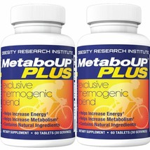 Lipozene MetaboUP Plus - 2 60 Ct Bottles - Thermogenic Weight Loss Fat B... - $33.21