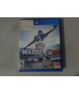 EUC Madden NFL 16 Sony Playstation 4 PS4 Game Complete Free Ship - $14.84