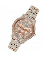 MICHAEL KORS MK6628 RUNWAY ROSE STAINLESS STEEL PAVE CHRONOGRAPH WOMEN'S... - £123.77 GBP
