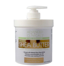 Advanced Clinicals Spa Size Shea Butter Ultra Rich Softening Cream 16oz - $11.99