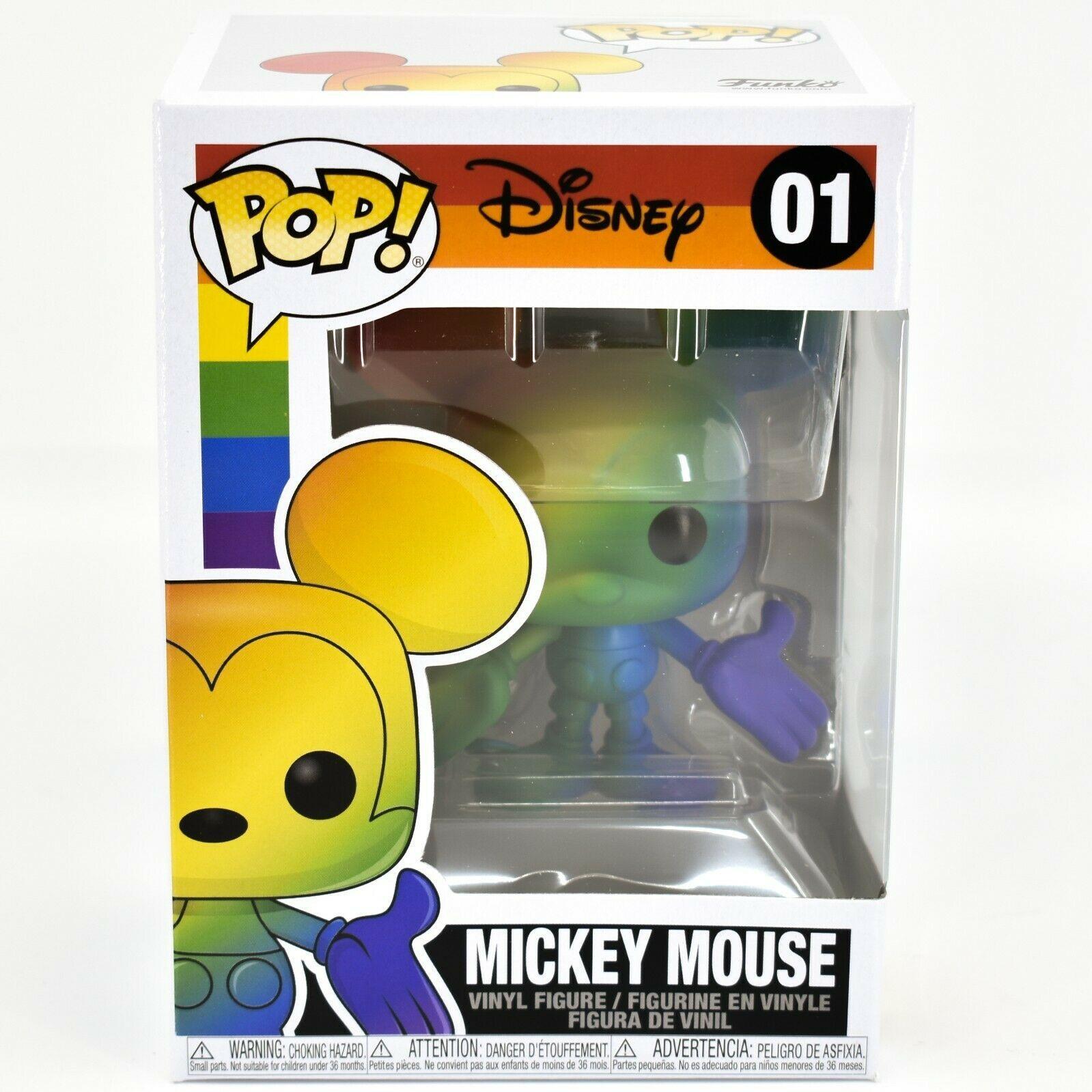 Funko Pop! Disney Pride 2021 Rainbow Mickey Mouse #01 Figure