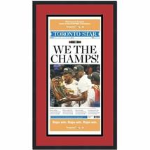 Framed Toronto Star Raptors We The Champs 2019 Champs Newspaper 17x27 Photo - $114.99