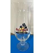 Hard Rock Cafe ATHENS Hurricane Glass Red Circle HRC Logo Palm Trees 9 3... - $39.99
