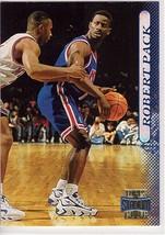 1996-1997 Topps Stadium Club #124 Robert Pack New Jersey Nets Basketball... - $0.99