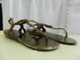 Nine West New Womens Angiola Bronze Sandals 8 M Shoes - $89.10