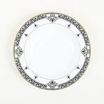 """Versace for Rosenthal Black White & Gold Porcelain """"Marqueterie"""" Soup Bowl - $55.00"""