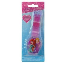 Disney Princess Sparkle Lip Gloss Watch Strawberry Flavored Lip Balm - $9.99
