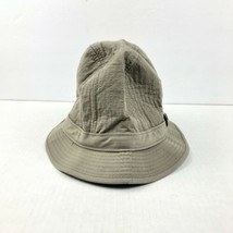 Dorfman Pacific Scala Medium Cotton And Polyester Blend Bucket Hat Tan/K... - $12.47