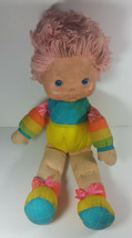 Vintage Rainbow Brite Plush Baby Doll 16in Hallmark 1983 Stuffed Animal - $9.99