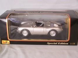 Porsche 550 A Spyder 1:18 scale diecast Special Edition Maisto - $45.08