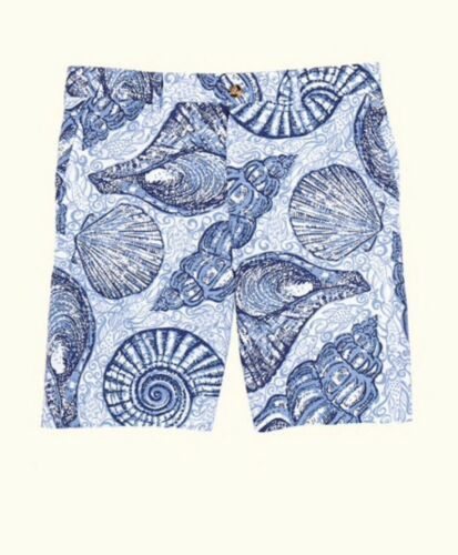 Primary image for Lily Pulitzer Beaumont Pop Up Stuffed Shells Shorts Sz 40 NWT MSRP $98