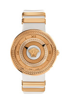 Versace VLC040014 V-metal Icon Gold IP Steel Ladies Watch - $2,588.32