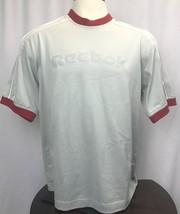 Mens Classic Reebok S/S T-Shirt Shirt Size Large AThletic - $14.70