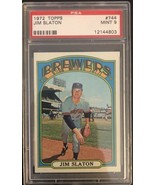PSA 9 - 1972 Topps #744 Jim Slaton Milwaukee Brewers - $32.73