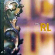2001 Acura 3.5 RL sales brochure catalog 01 US 3.5RL Legend - $9.00