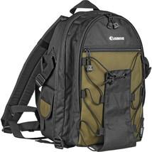 Canon - 200EG -DSLR Camera Backpack for EOS 70D 6D 5D Mark III Rebel T5i T6i T6s - $69.25