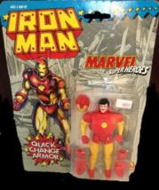 1994 Iron Man w/ Quick Change Armor - SEALED - $23.95
