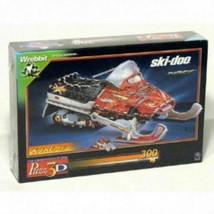 Wrebbit Puzz 3D SKI-DOO Snowmobile Puzzle - $29.15