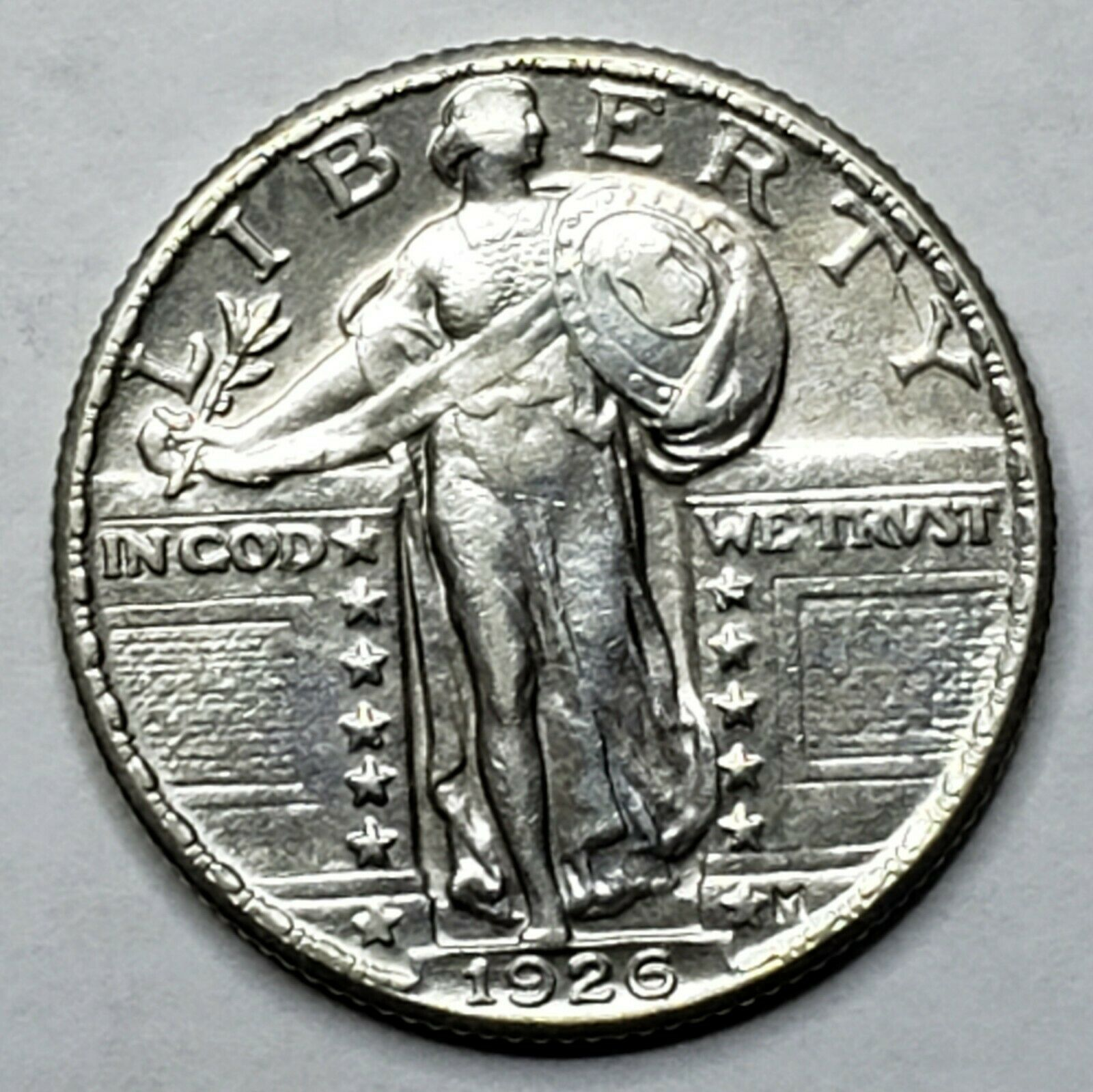 1926 Standing Liberty Silver Quarter Coin Lot 519-78