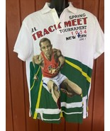 Polo Ralph Lauren Men's Custom Slim-Fit Track Graphic Polo Shirt Large - $74.25