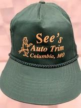 SEE'S Auto Trim Columbia MO Snapback Adult Baseball Cap Hat - $22.27