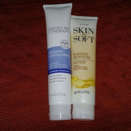 AVON Moisture Therapy Intensive Healing & Repair Hand Cream, + Skin So Soft Hand