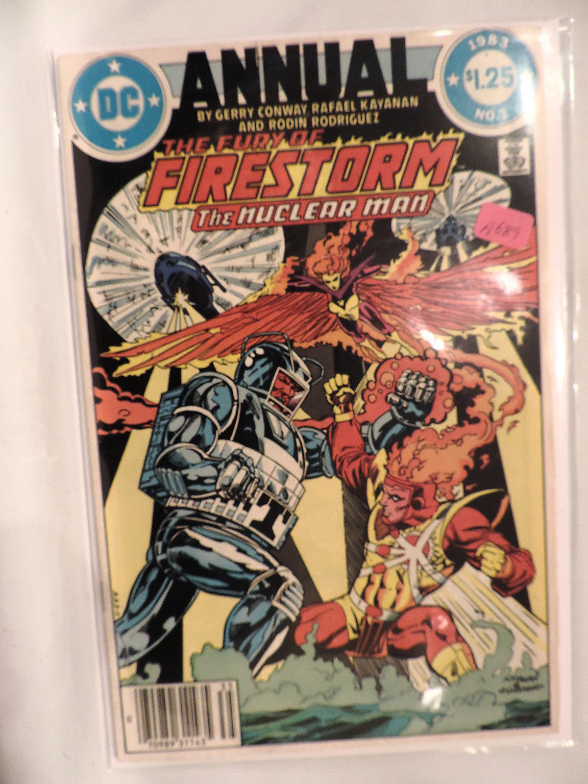 #1 The Fury of Firestorm Annual 1983 DC Comics A689