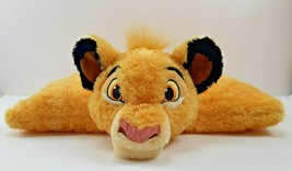 Disney Parks Simba Pillow Pet The Lion King Stuffed Animal Reversible Plush - $21.45
