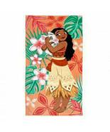 Disney Store Moana Beach Pool Towel Pua Pig Girls Island Flower Swim Sum... - $29.02