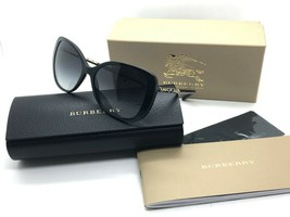 Brand New Burberry Sunglasses BE 4238 3001/8G Black/Grey Gradient For Wo... - $126.07