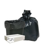 Webster 33 Gal. Classic Trash Bags, Black WEBB40-790170 250qty - $48.35