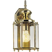 Progress Lighting P5832-10 Traditional One Light Wall Lantern from BrassGUARD Co - $108.15