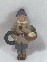 Vintage Remember When Christmas Ornament Boy Goose Xmas Holiday 21629 - $14.84