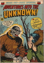 Adventures Into The Unknown Comic Book #36, ACG 1952 VERY GOOD+ - $51.20
