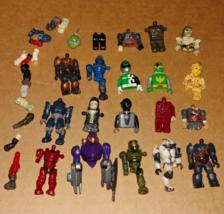 Mega Bloks figures pieces and parts lot 20+ Halo power rangers tmnt - $14.99