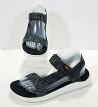 Teva Terra Float 2 Knit Universal Sport Sandals Mens 7 Dark Gray Black 1... - $46.74