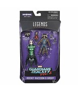 Marvel Guardians of the Galaxy Legends Series Rocket Raccoon and Baby Gr... - $17.77