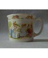 Royal Doulton Bunnykins Hug-a-Mug 1 Handle Albion Shape Cup - Ice Cream ... - $19.99
