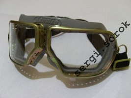 USSR MAD MAX iNDIANA JONES Aviator Motorcycle Capitan  Protective Glasse... - $13.49