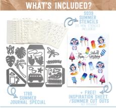 Summer Art Journal Special. NEW!  Elizabeth Craft Designs.  image 1