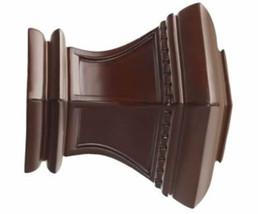 """Kirsch Wood Trends Classics Bristol Finial, for 3"""" pole, Mahogany (MPN#56810083) - $147.98"""