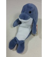 Retired Ty Beanie Babies Original Echo Dolphin Style Number 04180 with W... - $1,499.99