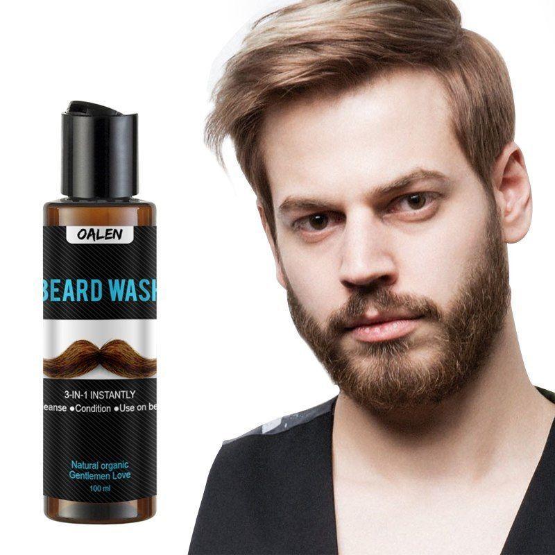 Hailicare® Beard Wash Men's Beard Shampoo Deep Cleansing Nourishing Cleanser